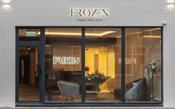 frozen cryotherapie